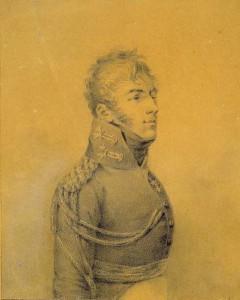 Александр Алексеевич Ржевский (26.03.1781 - 1807). (1806/1807) Автор Петр Рокштуль http://www.liveinternet.ru/users/4000579/post289212110/