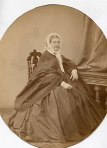 Поликсена Петровна Ралль, урожденная Зеленс, в первом браке за Федором Александровичем Бухмейер