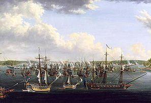 Битва при Фридрихсгаме 15 мая 1790 года Ю. Щульц (швед.)