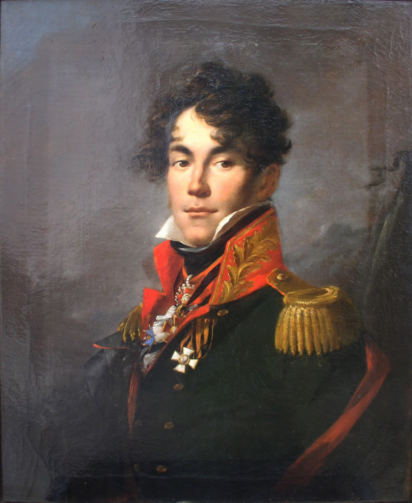 Де Бальмен граф Карл Антонович (1786 - 1812) https://commons.wikimedia.org/wiki/File:K.A._de_Balmen.jpg#/media/File:K.A._de_Balmen.jpg