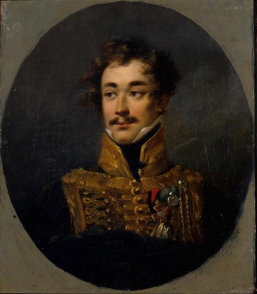 Олсуфьев Александр Дмитриевич (1790 - 1853) https://commons.wikimedia.org/wiki/File:Olsufjev_by_Molinari.jpg#/media/File:Olsufjev_by_Molinari.jpg