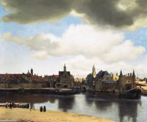 Картина голландского художника Яна Вермеера «Вид города Делфта». http://smallbay.ru/artbarocco/vermeer_05.html