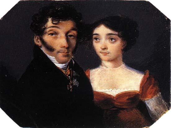 Озеровы Семен Николаевич и Анастасия Борисовна