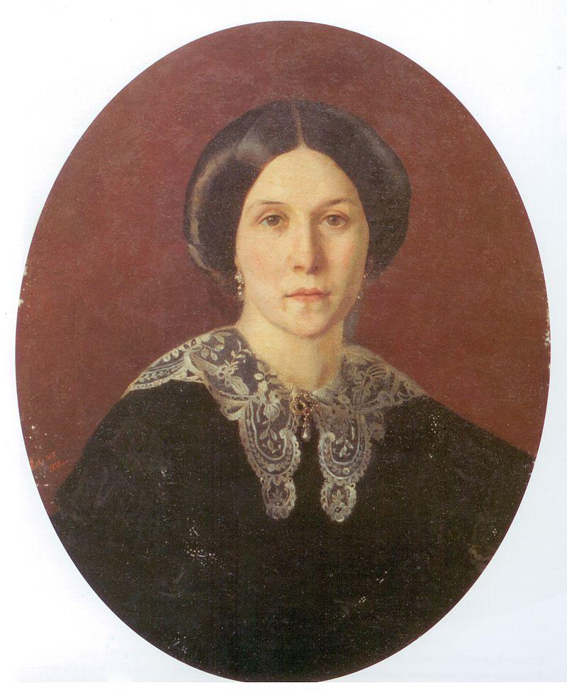Брюлова Александра Александровна, урожденная баронесса Ралль